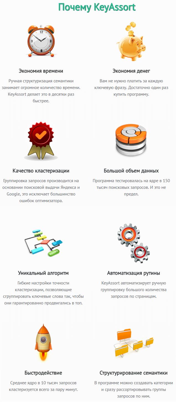 keyassort program 1 - Keyassort:кластеризация запросов,программа для группировки запросов семантического ядра