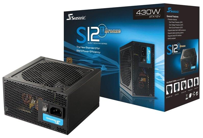 SEASONIC SMPS S12II 430 80 PLUS BRONZE SERIES 02 - Какой блок питания выбрать для компьютера,какая мощность бп нужна ?