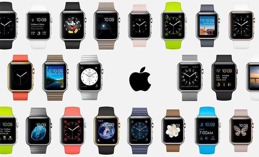 коллекция умных часов от эпл