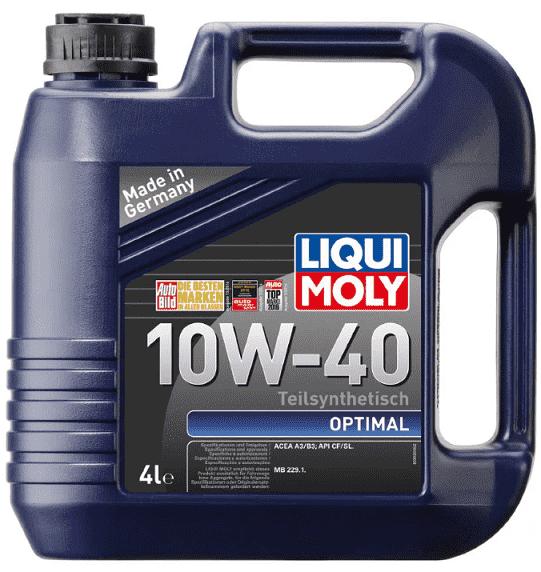 liqui moly optimal 10w-40 характеристики