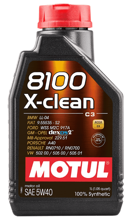 motul 8100 x-clean 5w40 4 л артикул