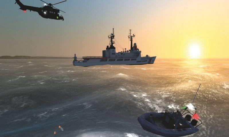 ВМС США разработали морской тренировочный симулятор
