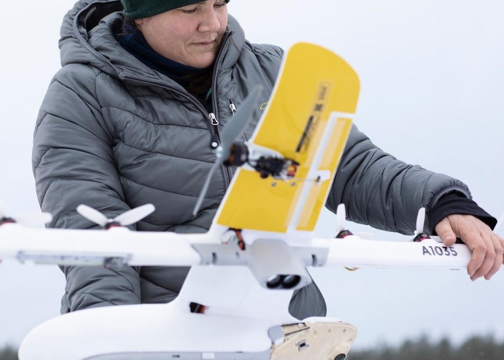 Alphabet представила улучшенный концепт дрона-доставщика Wing