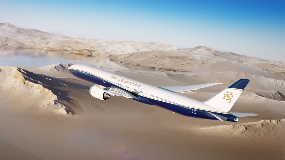 Boeing BJJ 777X вскоре заступит на пост