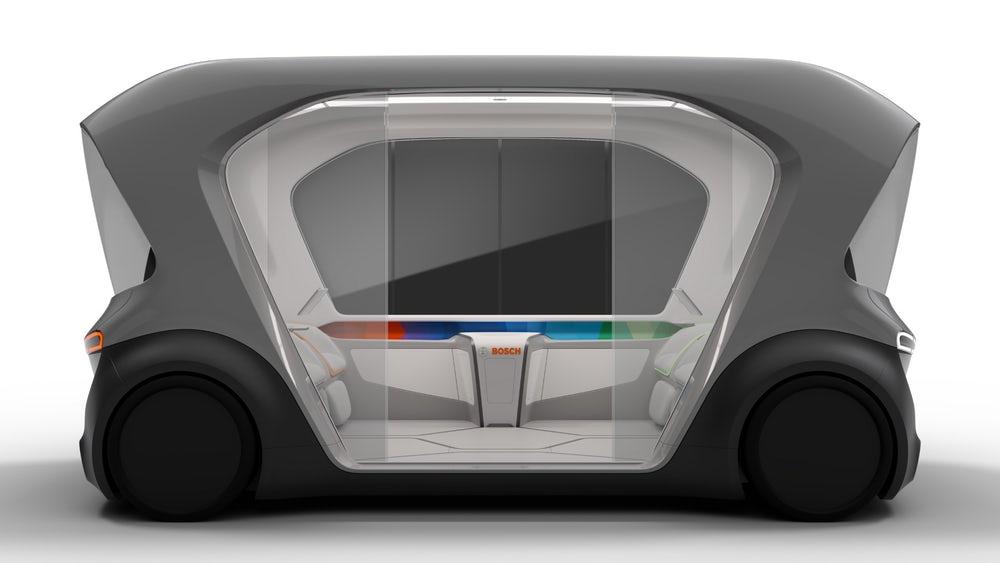 Bosch работает над собственным проектом автономного электромобиля