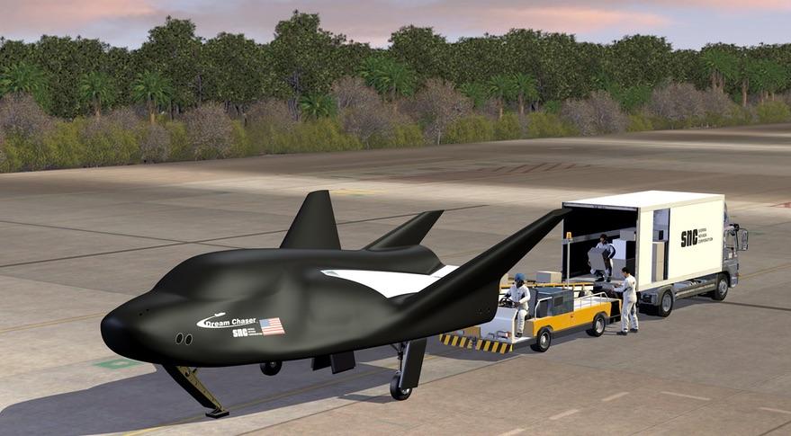 SNC начала проектирование новой версии корабля Dream Chaser