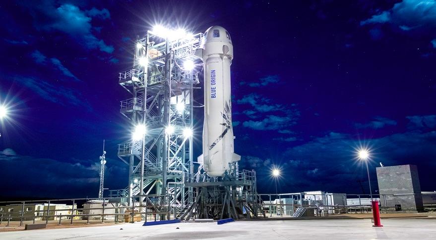 Blue Origin откладывает запуск обновленной New Shepard до января 2019 года