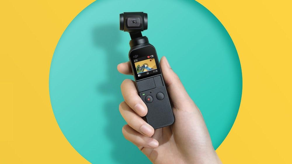 DJI представляет новую карманную 4К-камеру Osmo Pocket