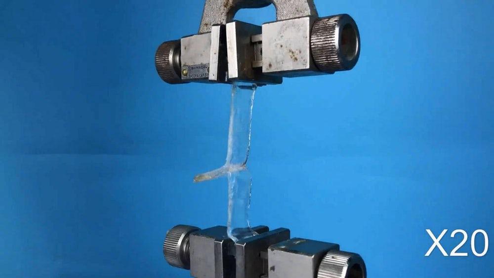 Тестируется новый тип полимерного адгезивного материала