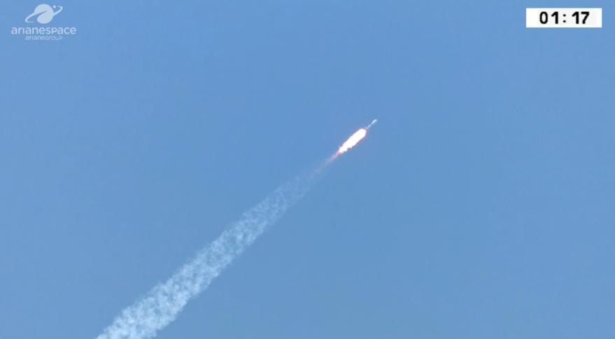Arianespace завершила свою финальную миссию в 2018 году