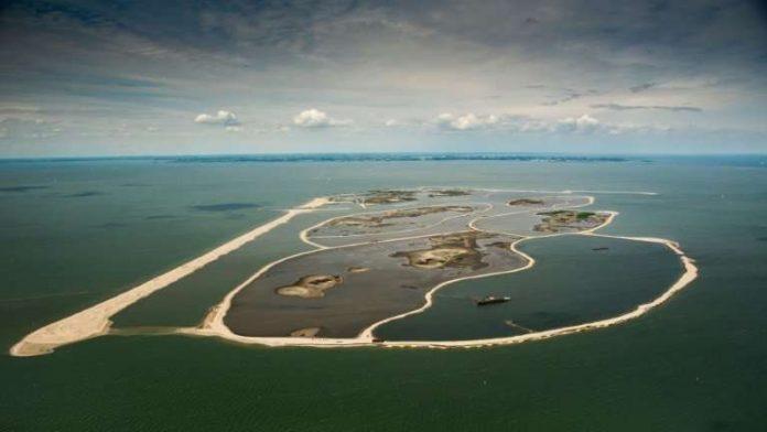 Нидерландский рейнджер создает искусственный архипелаг в Маркермере