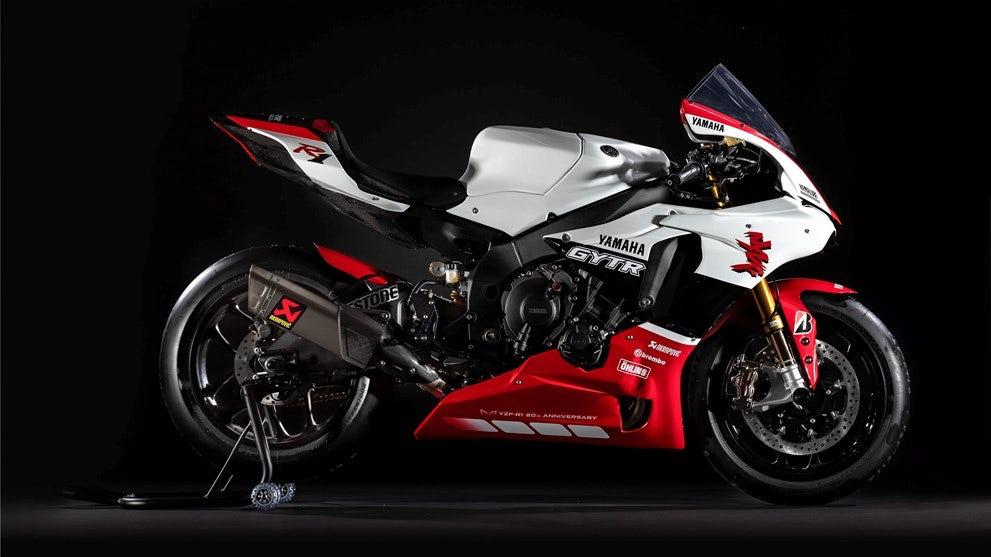 Легендарная модель Yamaha R1 GYTR выходит на рынок в ограниченном издании