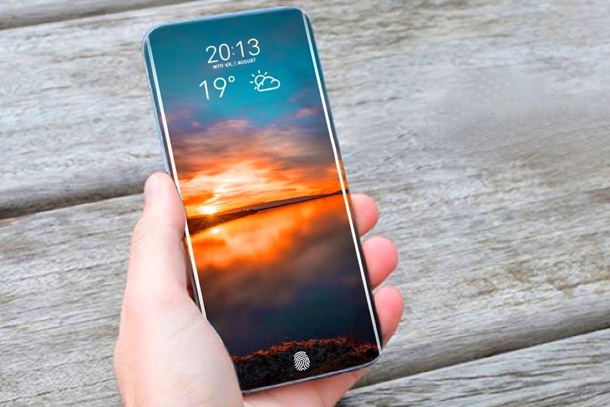 Samsung планирует сделать смартфон с дисплеем без единого отверстия